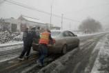 好大的雪,今天最好别开车!