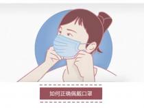 【众志成城 战疫情】有效防护 从我做起:如何正确佩戴口罩
