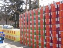渭南市青企联向中心城区六个街办捐赠六万余元抗疫物品