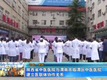 陕西省中医医院与渭南市临渭区中医医院建立医联体协作关系
