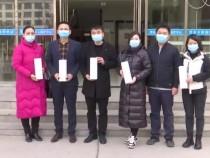 爱心企业捐赠消毒物资 助力民政服务机构防疫