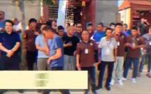 """130余人齐聚临渭区故市镇南师村参观""""阳光玫瑰"""""""