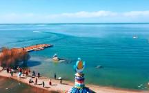 青海湖每年增加四个西湖的水量,它还会流向黄河吗?