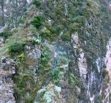 微记录悬崖村之路 从藤梯钢梯到楼梯