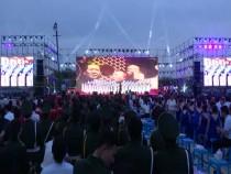 富平县举行庆祝新中国成立70周年合唱比赛