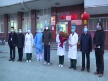 渭南首例新冠肺炎患者治愈出院