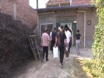 渭南经开区领导走访慰问退伍老军人