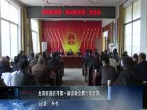 龙背街道召开第一届议政会第二次会议