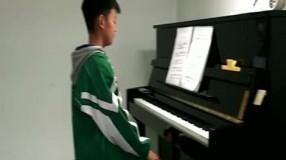 张东灏钢琴独奏《山丹丹开花红艳艳》