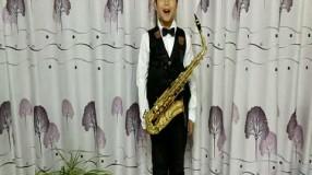 楊子岳薩克斯獨奏《布列舞曲》