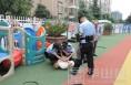 高新区深入辖区幼儿园开展反恐演练活动
