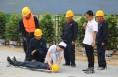韩城举办公路建设项目水上救援应急演练