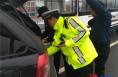 持假证上路被澄城交警发现 司机被拘10日罚款6500元