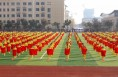 渭南市第十二届中学生篮球运动会在富平开幕