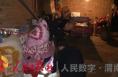 合阳县公安局南蔡派出所及时搜救煤气中毒妇女一名