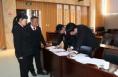 潼关县委第五考核组对潼关法院进行考核