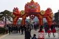 韩城春节假日旅游精彩纷呈 游客如潮 市场火爆