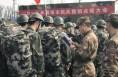 渭南750名基干民兵集中点验整组