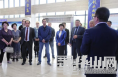 俄罗斯及吉尔吉斯斯坦政企代表团来渭南高新区考察