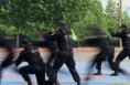 大荔公安开展反暴恐实战技能大比武