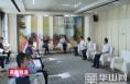 市委书记李明远与南方黑芝麻集团董事长韦清文一行座谈