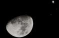 """23日晚至24日晨 公众可赏""""木星会月""""美妙天象"""