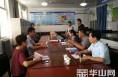 华州区教育脱贫接受渭南市教育脱贫攻坚督察小组检查
