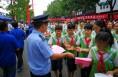 韩城市公安局掀起禁毒宣传活动热潮