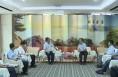 中国联通信息导航有限公司来渭考察 李明远与于永平一行座谈
