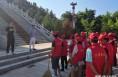 潼关组织社区服刑人员到烈士陵园开展集体劳动