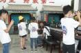 西工大学生来合阳县木偶剧团参加社会实践活动
