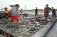 韩合机场建设如火如荼 预计9月底建成跑道施工任务