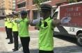 """澄城县交警大队以""""斑马线上我文明""""为主题 开展开学第一课"""