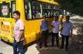 潼关交警矿区中队联合相关单位对校车线路进行实地勘察
