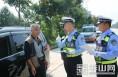 """华阴交警岳北中队""""迎双节、保安全"""""""