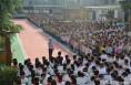 渭南大荔交警大队强化校园交通秩序管理确保学生出行安全