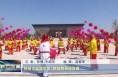 韩城:民俗文化进景区 锣鼓喧天迎宾客
