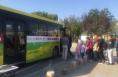 2018国庆长假  华阴免费公交安全与服务获赞