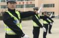 澄城县交警大队组织开展队列交通手势训练