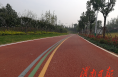 临渭区南塬自行车运动公园已建成