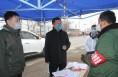 渭南高新区管委会主任薛清军看望慰问抗击疫情一线的工作人员