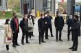 臨渭區人社局組織10名鎮村干部到韓城考察學習