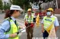 """华阴交警联合多部门开展""""一盔一带 安全常在""""活动"""