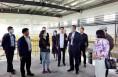 渭南高新区赴江苏伯克生物医药股份有限公司考察对接项目