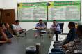 渭南高新城管市政作业车辆司机接受安全教育培训