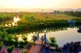 【视觉陕西】陕西合阳县:夕阳下的洽川处女泉