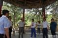 陕西省文物局副局长周魁英考察杜康河龙山文化遗址