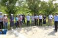 临渭区人大组织部分人大代表视察全区全民健身工作