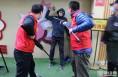 渭南市临渭区政府机关幼儿园开展反恐防暴应急演练