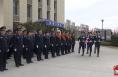 升警旗 铸警魂!渭南市各级公安机关举行升警旗仪式庆祝首个人民警察节